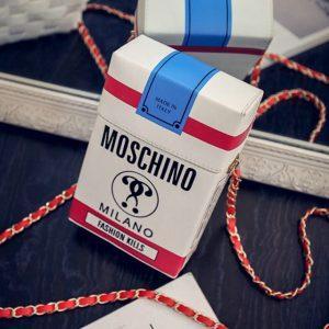 2017 Japan and Korea fashion fun cigarette mini Shoulder Messenger Small Box Shape Shoulder Bag Funny Personality Crossbody Bag