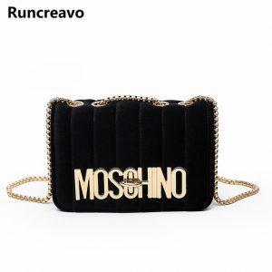 2018 new Women's chain shoulder crossbody bag diagonal leisure fashion letters small square trendy handbags bolsa feminina