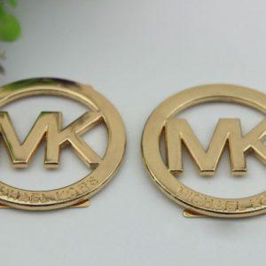 6pcs/lot Pale golden metal hardware shoe buckle DIY bag accessories buttons
