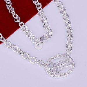 925 Silver fashion jewelry Necklace pendants Chains
