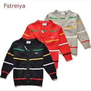 Baby boys christmas sweaters girls striped cardigan boy knitted cardigan kids clothes infantil toddler sweater kids knitwear