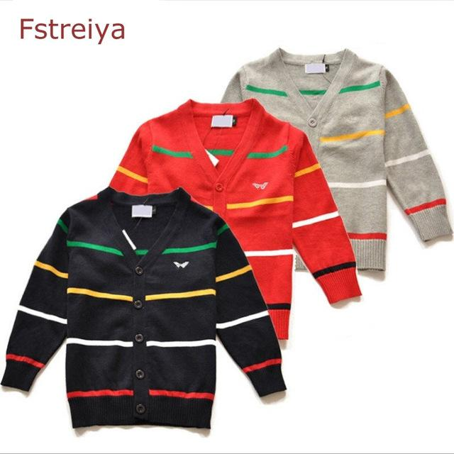 Baby boys christmas sweaters girls striped cardigan boy knitted cardigan kids clothes infantil toddler sweater kids