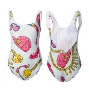 Beyonce Nicki One Piece Swimsuit Print Swimwear Women Swimming Suit  Monokini Bodysuit Main De Bain S M L