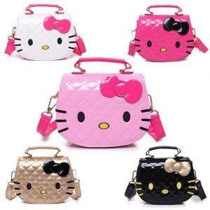 Character Shoulder Bags Cartoon for Girls Women Cat Shaped Kids Waterproof famous luxury designer handbags high quality brand