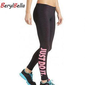 Cotton Women Leggings For Women Pants 2017 Female Autumn Leggin Workout Black Casual Elastic Fitness Legging Trousers BerylBella
