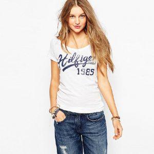 European Street Fashion Slim Summer Basic t shirt Women 2015 New Letter Print Casual Slim Women Tops T-Shirts Plus Size haoduoyi