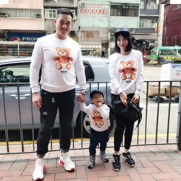 Family matching clothes family clothing fashion hoodies family look matching mother daughter clothes father son outfits