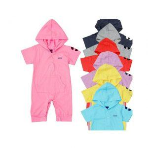 Fashion Summer Newborn Casual Cotton Baby Romper Suit Kids Boys Girls Rompers Body Summer Short-Sleeve Rompers Multicolors
