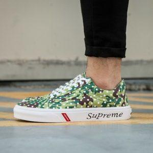 Free shipping Vans Old Skool Light-Weight Low-Top Canvas men Sports shoes Supreme Fencing shoes size 40-44