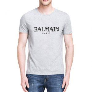 People Name BALMAIN City PARIS T Shirt Front Letter Print Fashion Women Men Cotton Casual Funny T Shirts