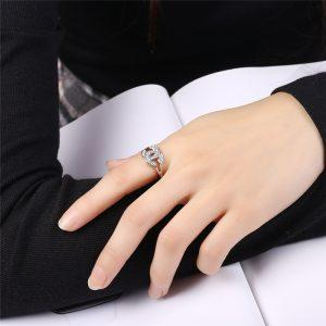 ROMAD explosion Europe and the United States fashion simple and beautiful C-shaped imitation  ring for women139