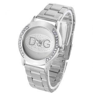 Reloj Mujer Top Brand Luxury Bear Women Quartz Watch Relogio Stainless Steel Rhinestone Dress Ladies Watches Hot Kobiet Zegarka
