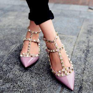Spring Autumn shoes Woman Fashion Patent Leather Shoes Stylish With Double Straps Flat Shoes Party And Daily single Women Shoes