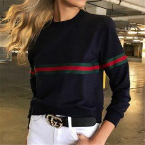 Women Ladies Loose Casual Long Sleeve T-Shirt Cotton Tops T-Shirt cx