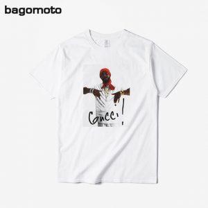 mogomoto Fashion Printed 3d T Shirt Men Cotton 2017 Summer Funny Anime T-shirt Men Brand Clothing Hip Hop Short Sleeve Tops