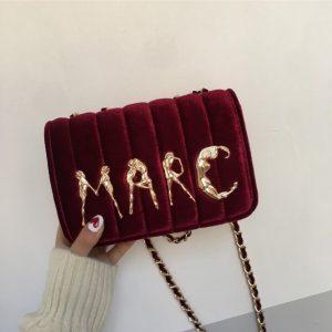 velvet bag woman 2018 handbags ladies famous brands female crossbody bag desigues spain chain shoulder bags sac a main to