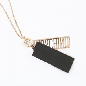 2018 New Arrival Stainless Steel Women Necklace Gold Color Chain Choker Not Fade Long pendant Cubic Zirconia Girls Fashion Gifts