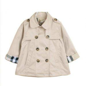 Girls and boys jacket  2017 autunm Children  Trench Coat  Fashion baby girls and boys tops outwear British style  kids clothes