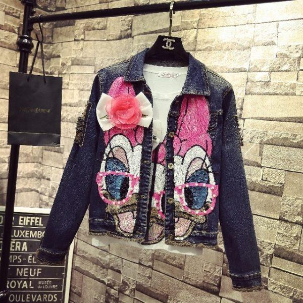 Disney inspired Fashion Denim jacket