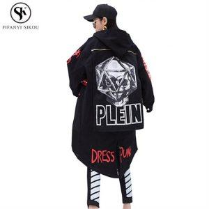 Plein oversized coat