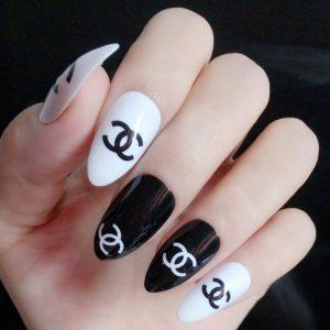 CC style nail stickers