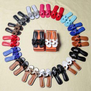 Hermes Oran style flat sandals