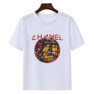 Chanel Fear God hip hop t-shirt