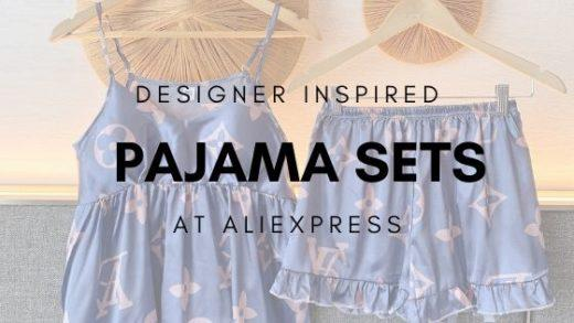 desiner inspired-pajamas at aliexpress